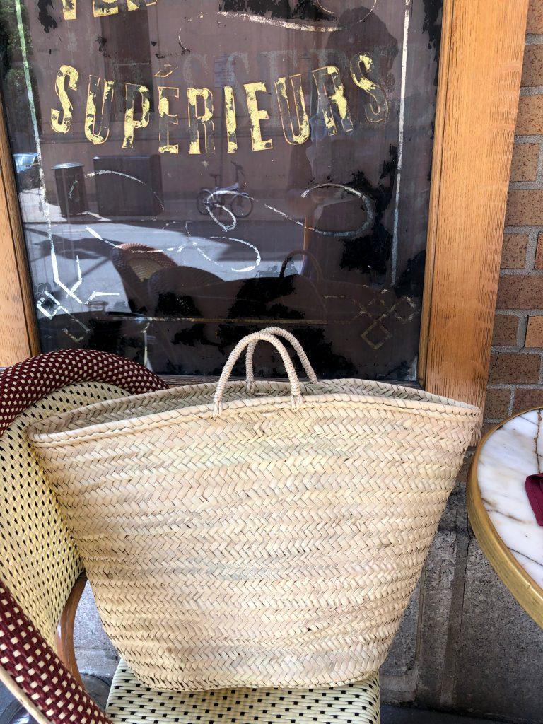 LARLiving large French market basket
