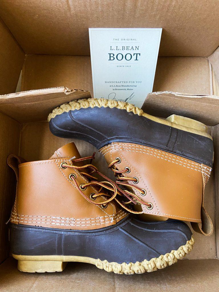 L.L. Bean 6″ duck boots