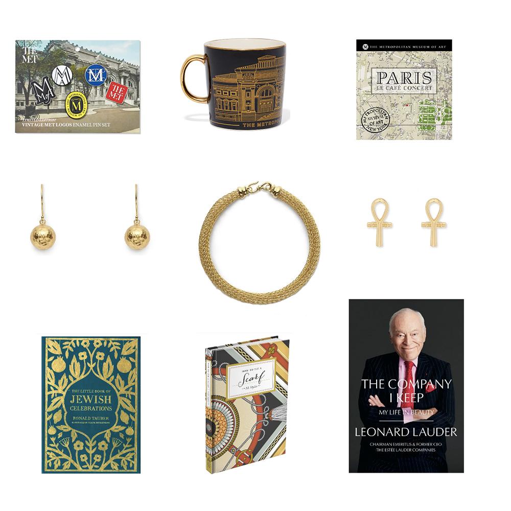 Merchandise from The Met Shop.