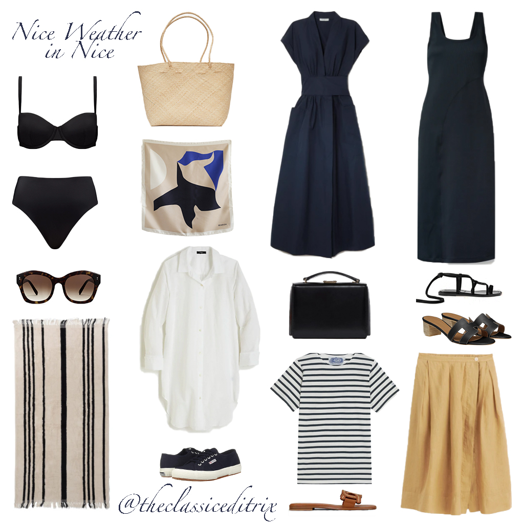 Outfits for Nice, France